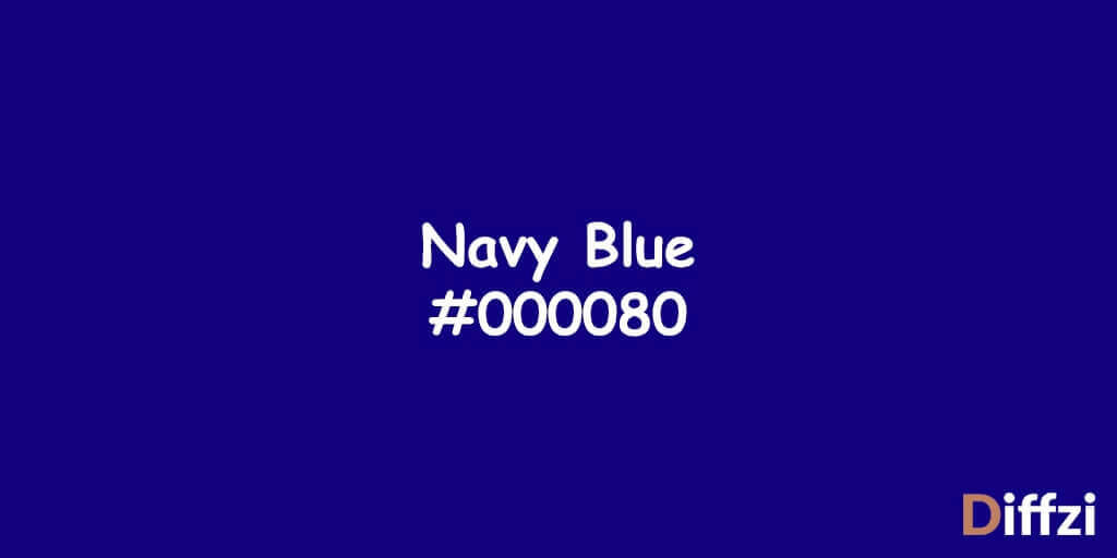 Royal Blue vs. Navy Blue: What is The Difference? | Diffzi