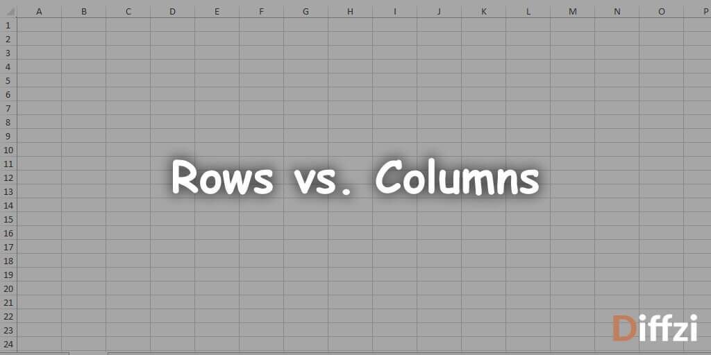 Rows vs. Columns