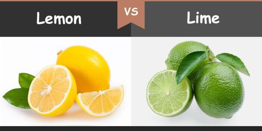 lemon vs lime