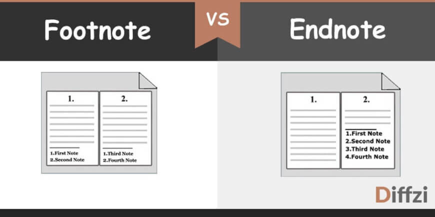 Footnote vs. Endnote