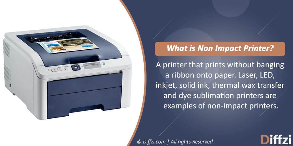 Non Impact Printer
