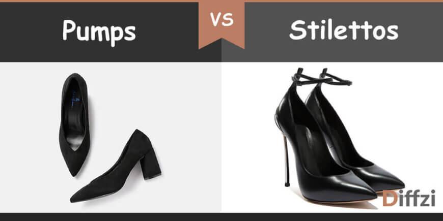 pumps vs stilettos