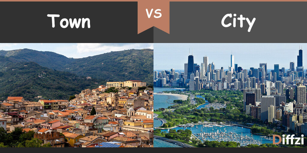town vs city